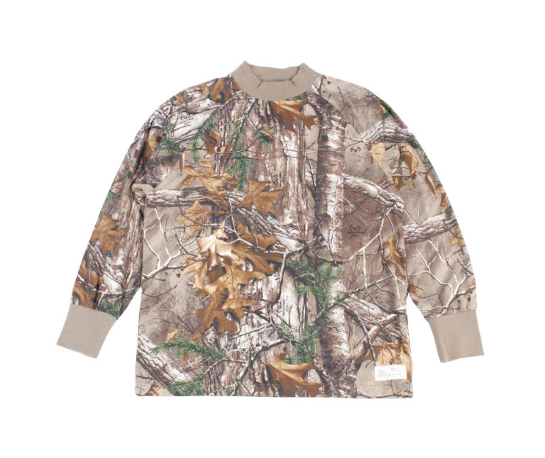 Branch Realtree Mock Neck Shirt