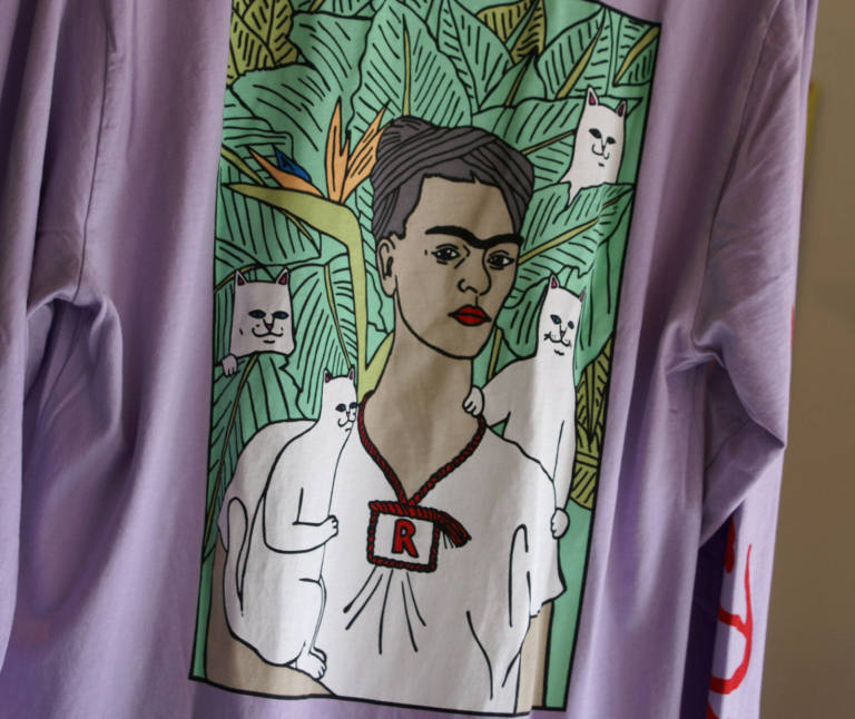 RIPNDIP : Nermal Portrait L/S Shirt