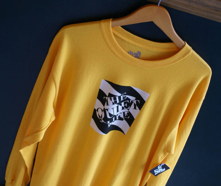 The Quiet Life : Optical Gold L/S Tee