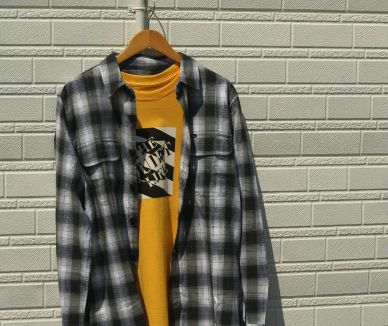 OBEY : L/S Checked shirt