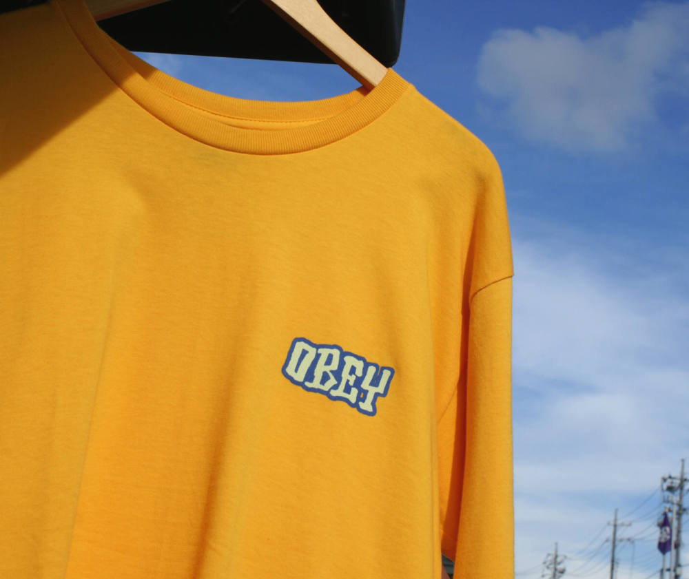 Obey : Seven Four L/S Tee