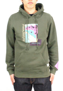 プルオーバーパーカー Seeing is Believing Hoodie -Olive-