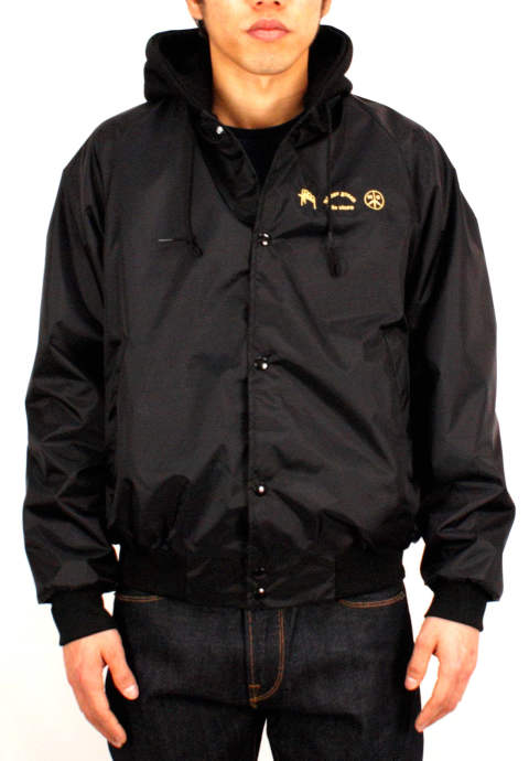 フードジャケット Sweat Hood Jacket-Black-