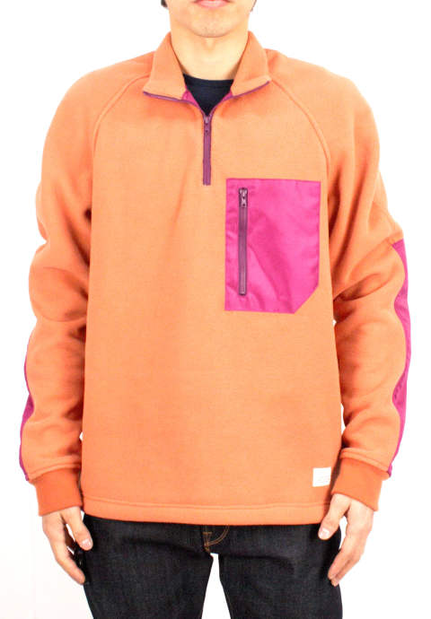 アクティビティフリース Activity Fleece -Papaya/Raspberry-