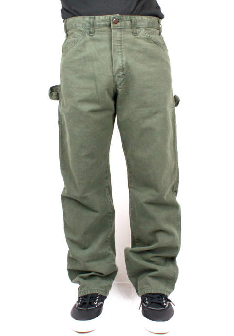 "ワークパンツ ""Green Bootleg"" Dickies -Army-"