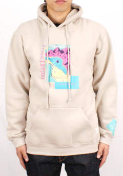プルオーバーパーカー Seeing is Believing Hoodie -Stone-