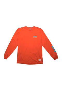ロングスリーブカットソー Paratodo x Project Kuya L/S Tee -Orange-