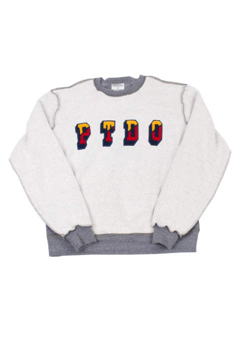クルーネックスウェット En Reversa Crewneck -Heather Grey-