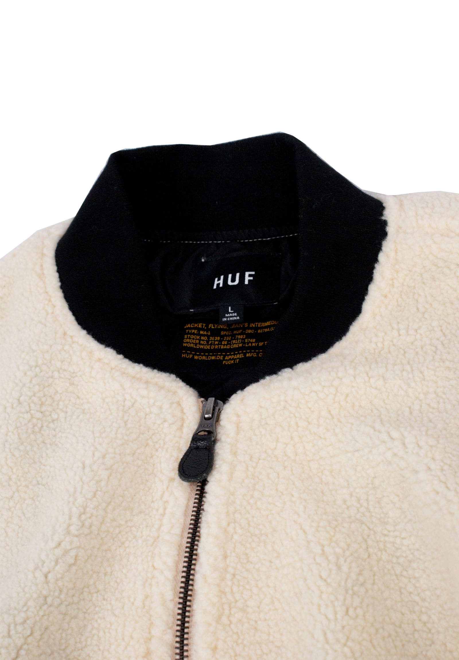 ボアジャケット Sherpa Bomber Jacket -Natural-