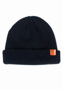 ニットキャップ Stay Warm Beanie -Black-