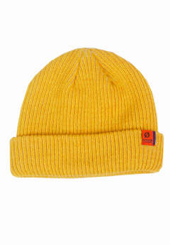 ニットキャップ Stay Warm Beanie -Yellow-