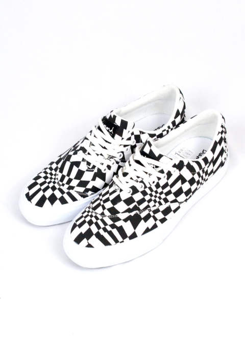 スニーカー スケートシューズ Avenue QS  Skate Shoes -Black&White-