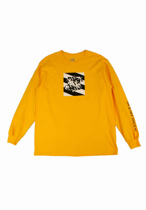 ロングスリーブカットソー Optical Gold Long Sleeve T-Shirt -Gold-