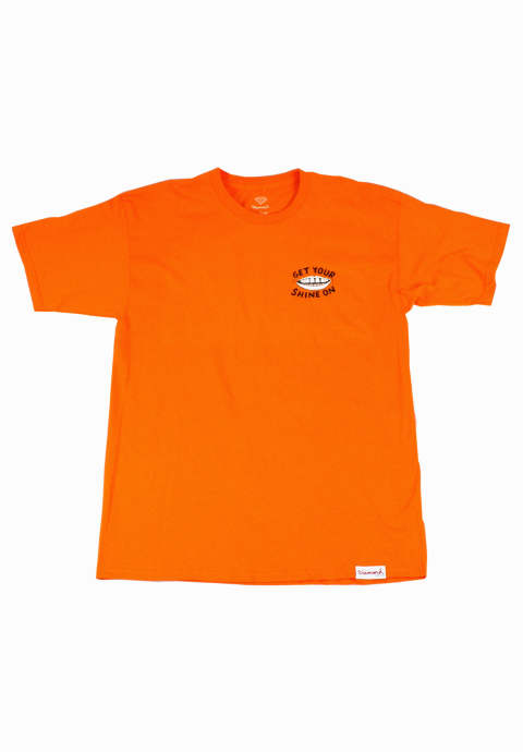 半袖Tシャツ  Shine On T-Shirt -Orange-