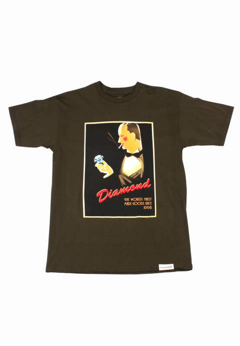 半袖Tシャツ Worlds Finest T-Shirt -Brown-