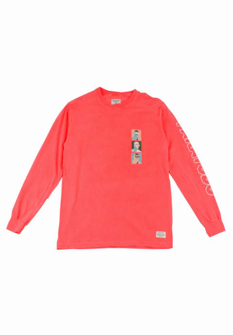 ロングスリーブTee Origins L/S - Bright Salmon-