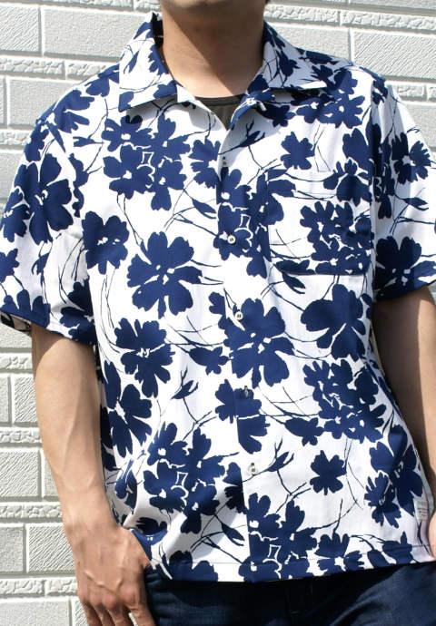 半袖シャツ Easy Shirt -Desert Rose-