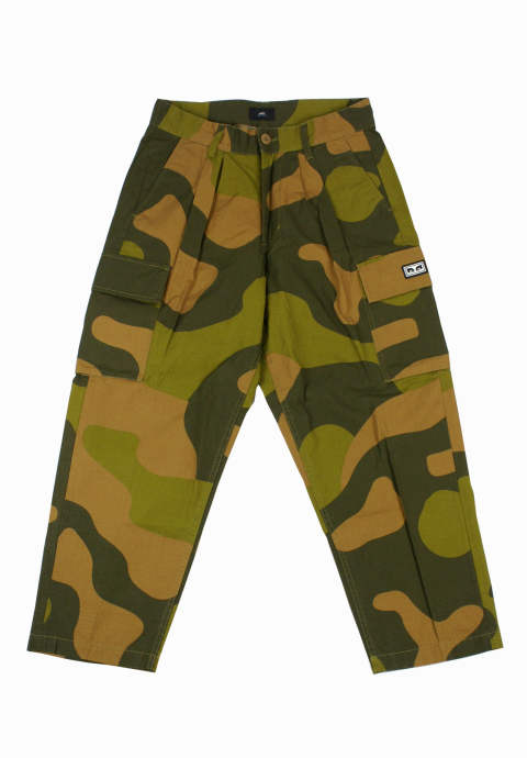 カモ柄ワイドパンツ Fubar Big Fits Cargo Pants -Oversized Camo-