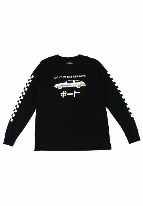 ロンT Port GP Celica L/S -Black-