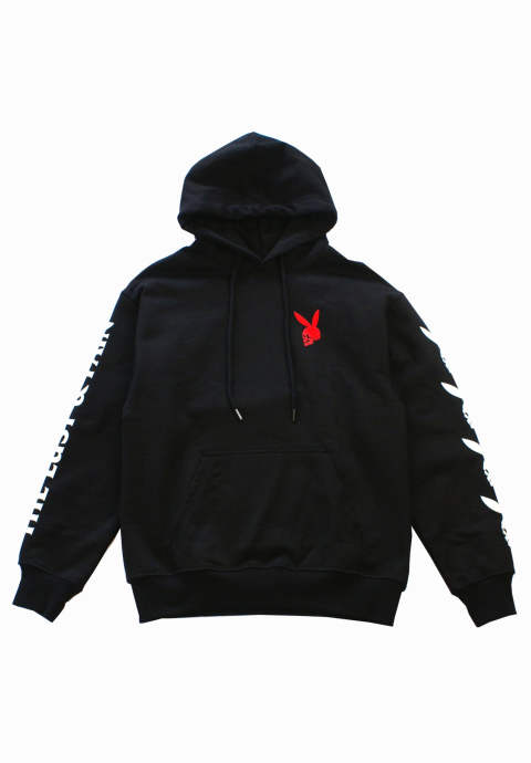プルオーバーパーカー The Lust & Pain hoodie -Black-