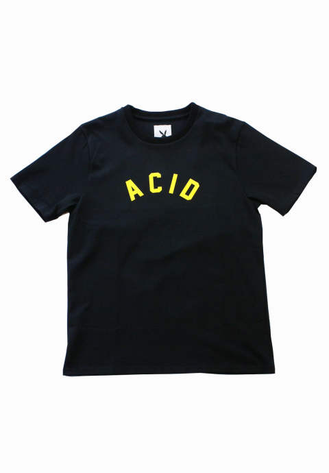 プリントTシャツ Acid Tee -Black- daze2019awst3 DAZE