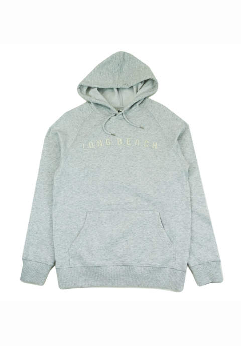 プルオーバーパーカー Long Beach Felt Hood -Heather-