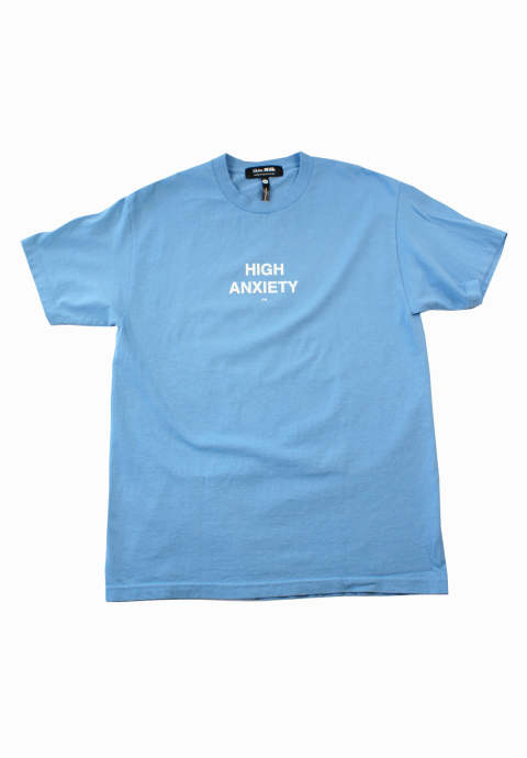 半袖Tee High Anxiety -Light Blue-