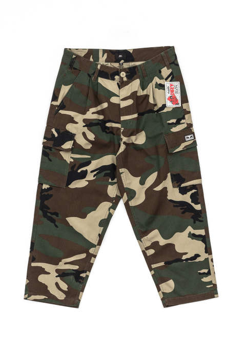 カモ柄ワイドパンツ Fubar Big Fits Cargo Pants -Woodland Camo-